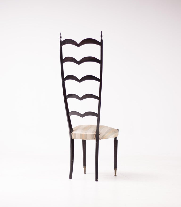 Mid-20th Century Paolo Buffa High Back Side Chair For Sale