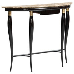 Paolo Buffa Mid-Century Modern Marble-Top Console