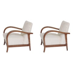 Paolo Buffa Pair of 1940s Armchairs