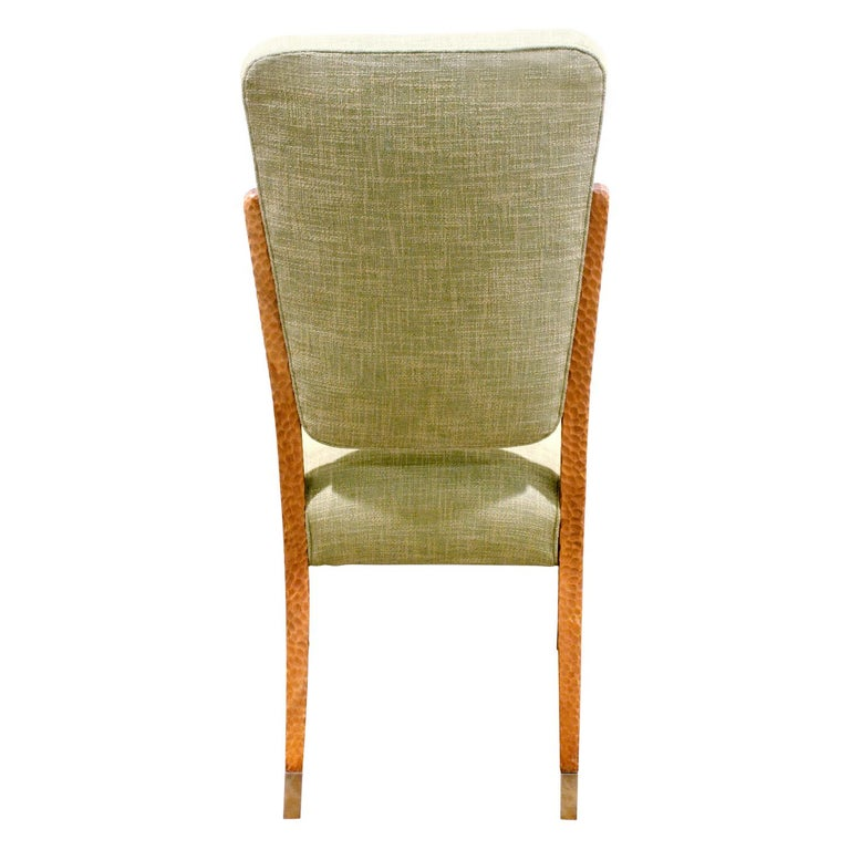 Italian Paolo Buffa Set of Four Handcrafted Dining / Game Chairs, circa 1940 For Sale