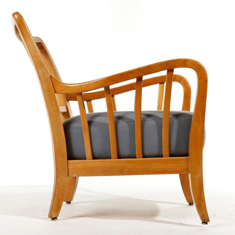 Bench Seette Seat by Thonet, Attributed to Josef Frank, Wood, 1940 For Sale 6