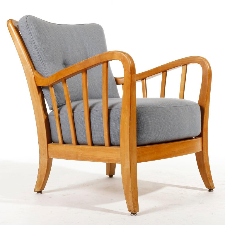 Bench Seette Seat by Thonet, Attributed to Josef Frank, Wood, 1940 For Sale 9