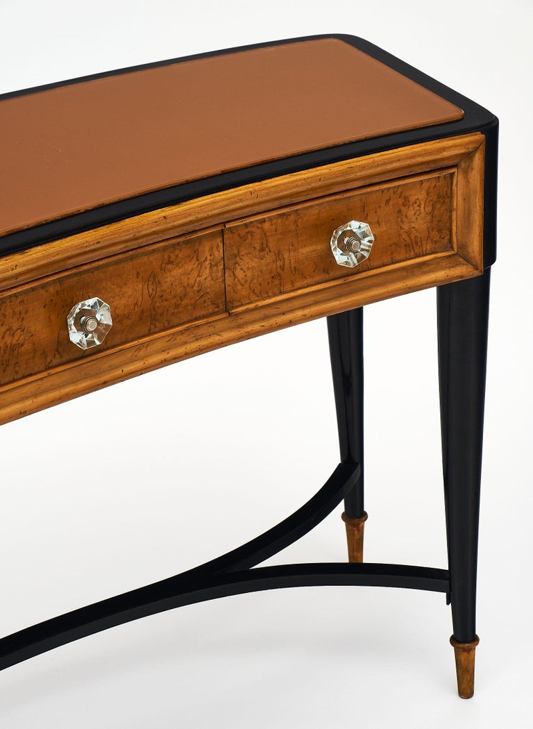 Mid-20th Century Paolo Buffa Style Italian Console or Vanity For Sale
