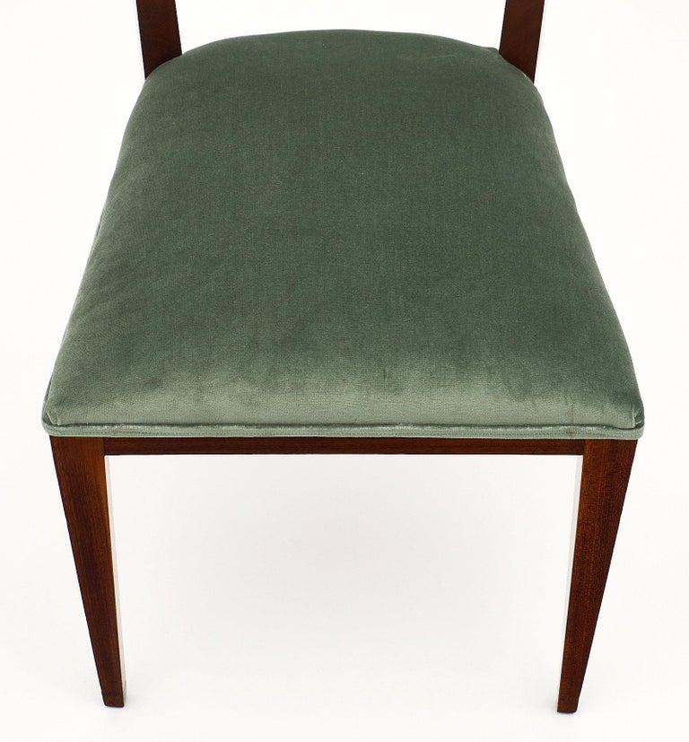 Mid-20th Century Paolo Buffa Style Italian Dining Chairs For Sale
