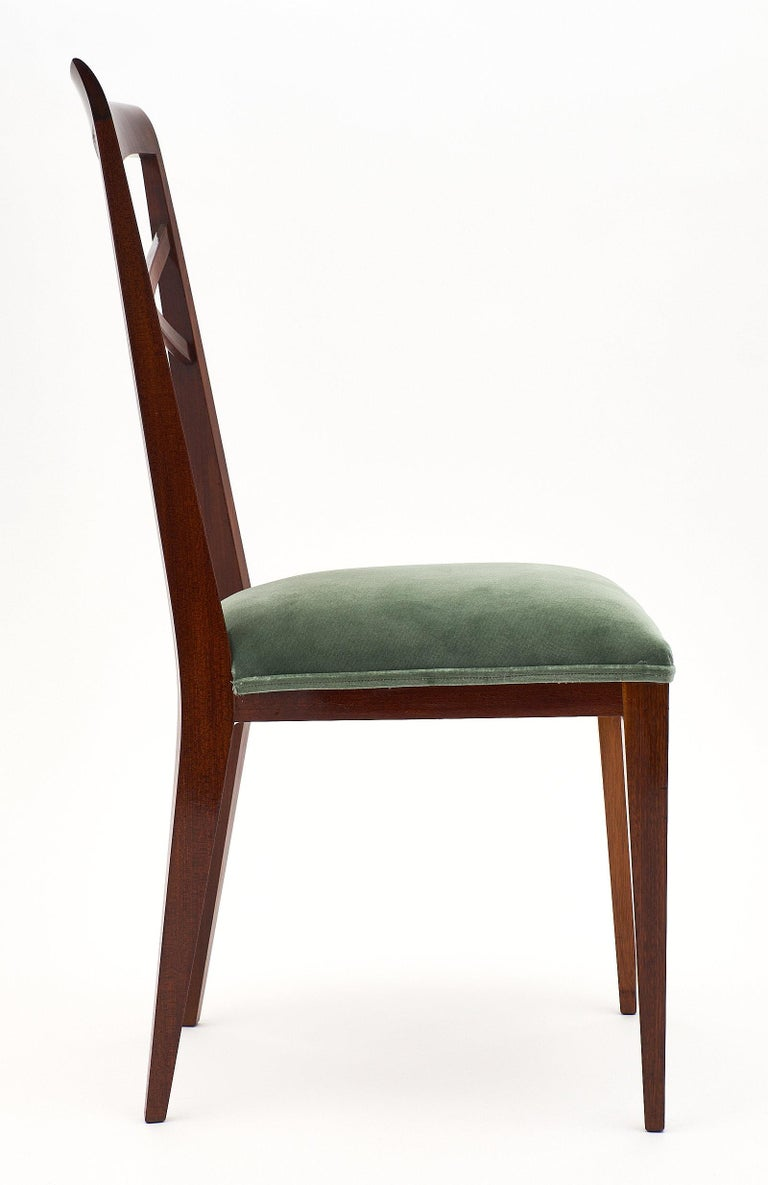 Paolo Buffa Style Italian Dining Chairs For Sale 1