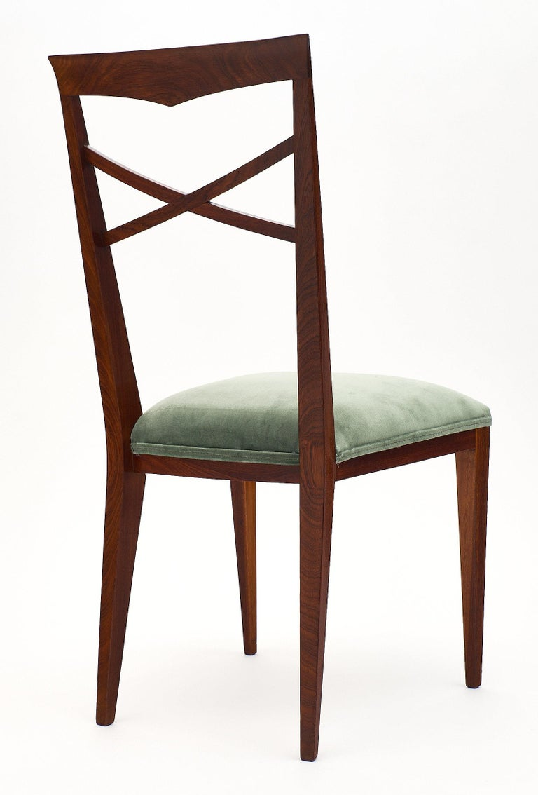 Paolo Buffa Style Italian Dining Chairs For Sale 2