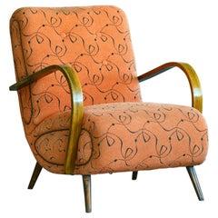 Paolo Buffa Style Midcentury Italian Lounge Chair