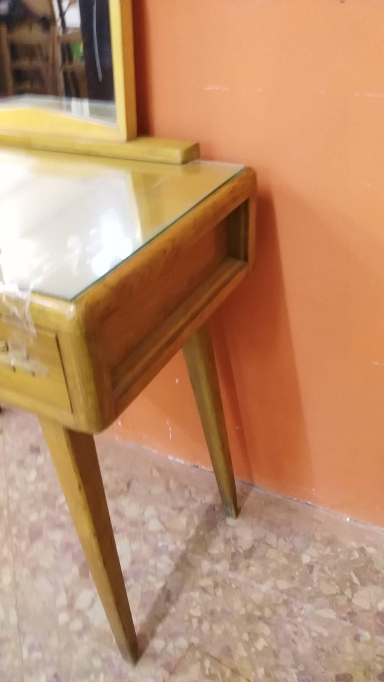 Paolo Buffa Toilet with Mirror In Good Condition For Sale In Palermo, Italia