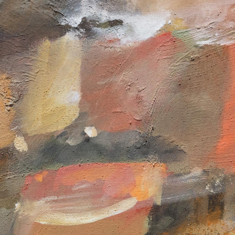 Ritorno dal Viaggio (Return from a Journey) - Abstract Expressionist Painting by Paolo Buggiani