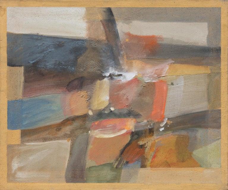 Paolo Buggiani Landscape Painting - Ritorno dal Viaggio (Return from a Journey)