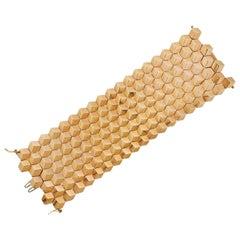 Paolo Costagli Rose Gold Brilliant Wide Bracelet
