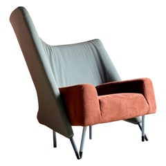Paolo Deganello Torso 654 Lounge Chair by Cassina, circa 1982