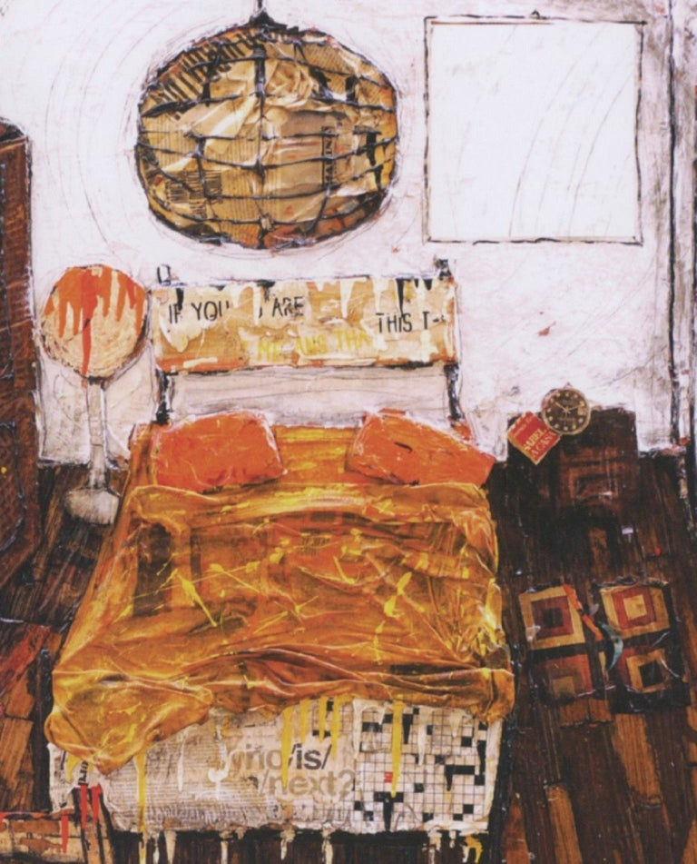 My bedroom. Paolo Franzoso, 21st Century Italian Contemporary, Interior Painting For Sale 1
