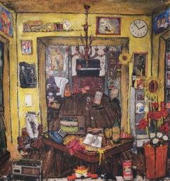 My Chaos. Paolo Franzoso, 21st Century Italian Contemporary, Interior Painting