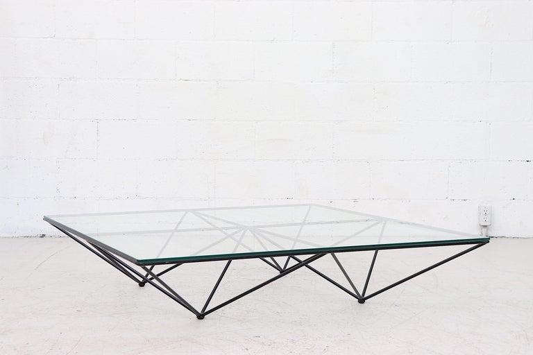 Mid-Century Modern Paolo Piva Alanda Architectural Coffee Table by B&B Italia For Sale