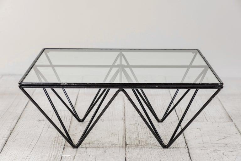 Paolo Piva Alanda Architectural Coffee Table by B&B Italia In Good Condition In Los Angeles, CA