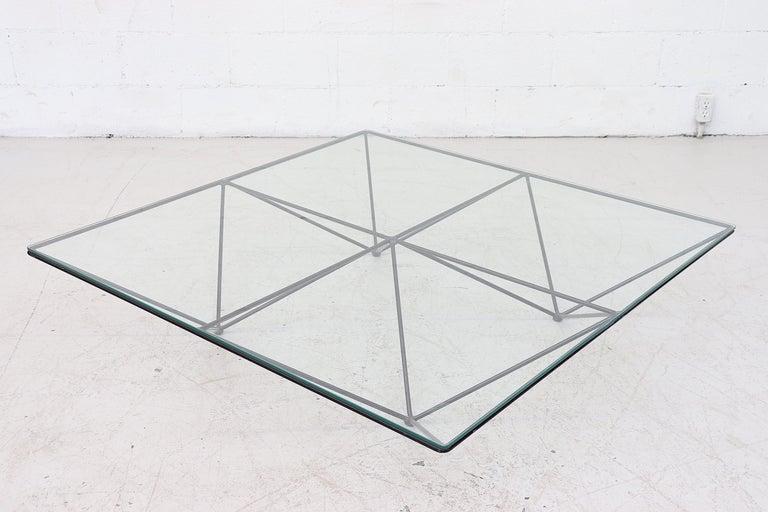 Italian Paolo Piva Alanda Architectural Coffee Table by B&B Italia For Sale