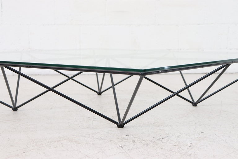 Enameled Paolo Piva Alanda Architectural Coffee Table by B&B Italia For Sale