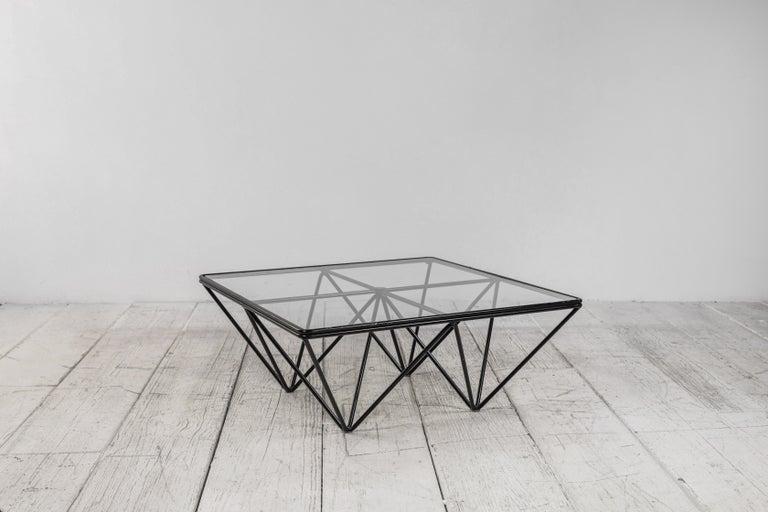 Metal Paolo Piva Alanda Architectural Coffee Table by B&B Italia