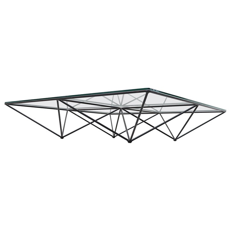 Paolo Piva Alanda Architectural Coffee Table by B&B Italia For Sale