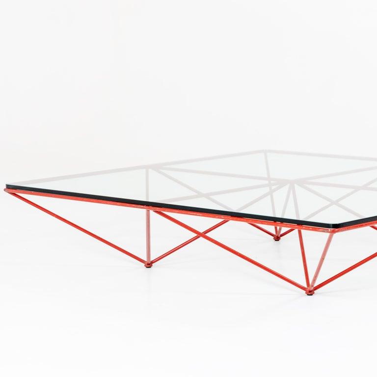 Mid-Century Modern Paolo Piva, 'Alanda' Coffee Table for B&B Italia, 1980s For Sale