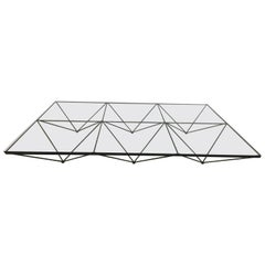 Paolo Piva Alanda Low Coffee Table for B&B, Italia