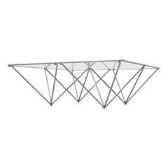 """Paolo Piva """"ALANDA"""" Style Pyramid Table"""