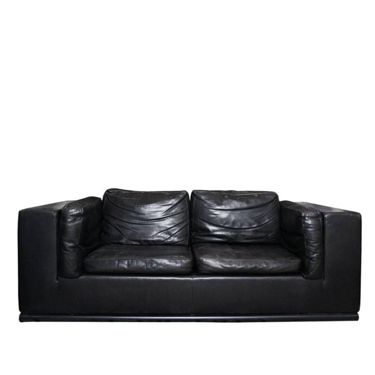 Paolo Piva for De Sede of Switzerland Leather Sofa