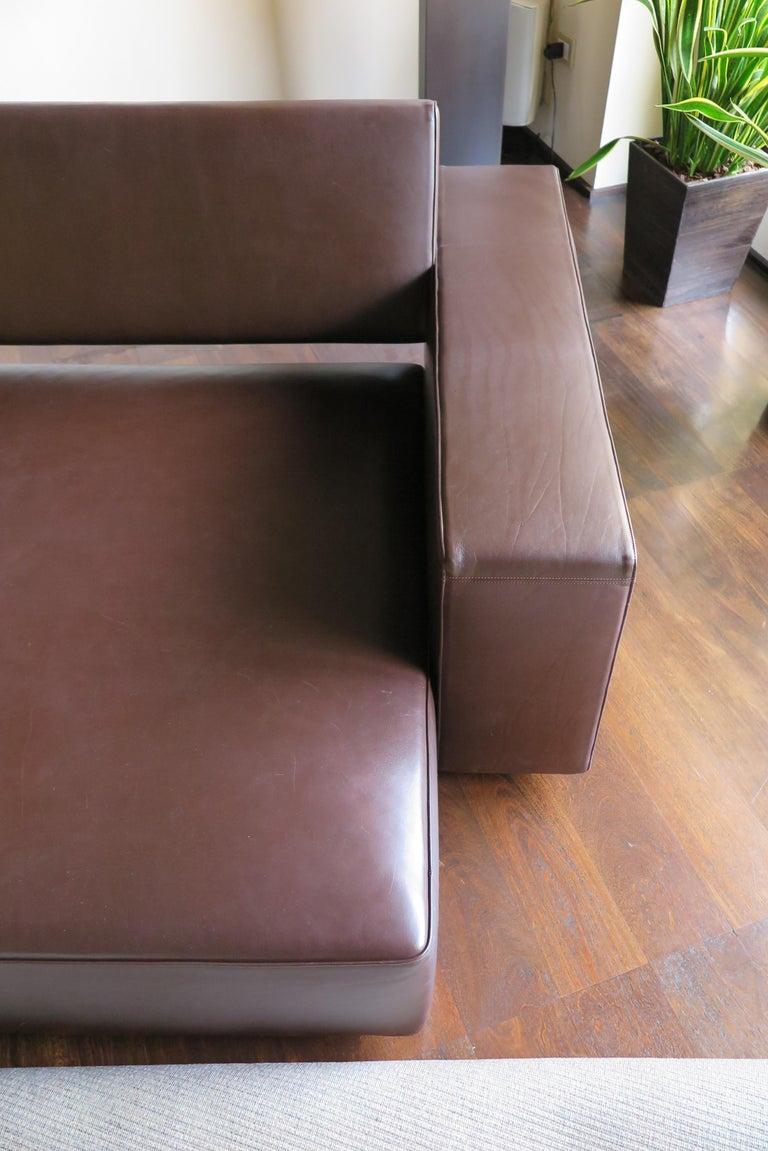 Paolo Piva Italian Modern Leather Sofa Model Andy for B&B Italia, 2002 For Sale 10