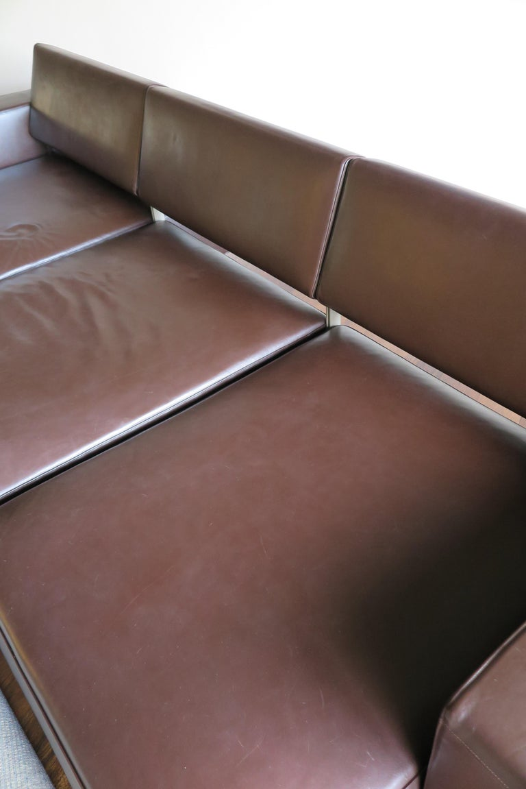 Paolo Piva Italian Modern Leather Sofa Model Andy for B&B Italia, 2002 For Sale 11