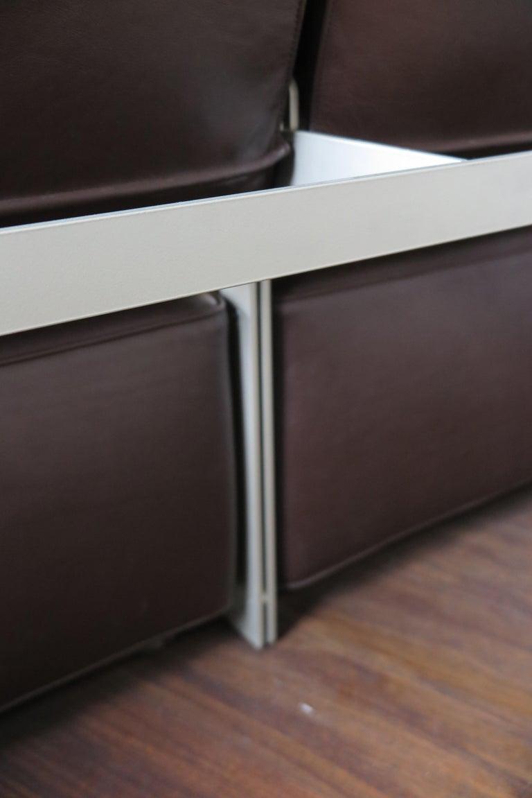 Paolo Piva Italian Modern Leather Sofa Model Andy for B&B Italia, 2002 For Sale 12