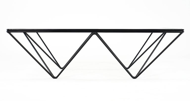 Modernist Coffee Table in the Style of Paolo Piva For Sale 4