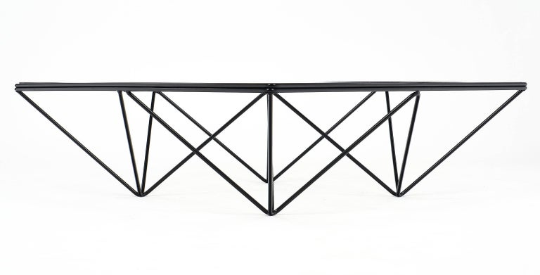 Modernist Coffee Table in the Style of Paolo Piva For Sale 5