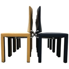 Paolo Piva Set of 8 Dining Chairs