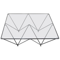 Paolo Piva Style Coffee Table, 1980s
