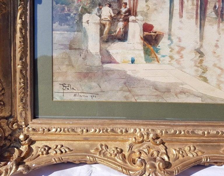 Paolo Sala (Milan 1859 - Milan 1924) -