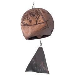 Paolo Soleri Arcosanti Arizona Modern Ceramic Wind Chime Bell