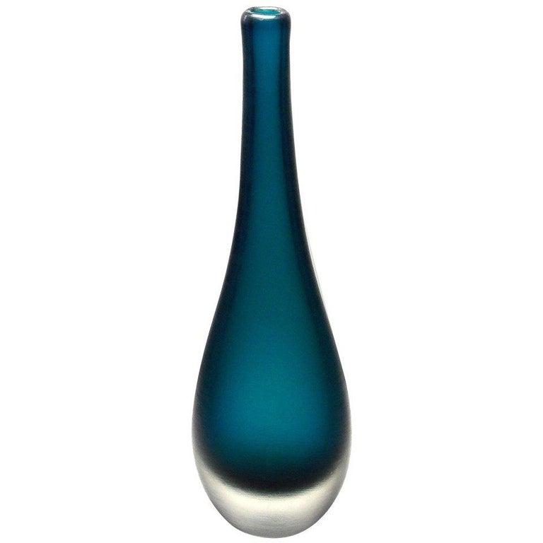 Paolo Venini Inciso Vase For Sale