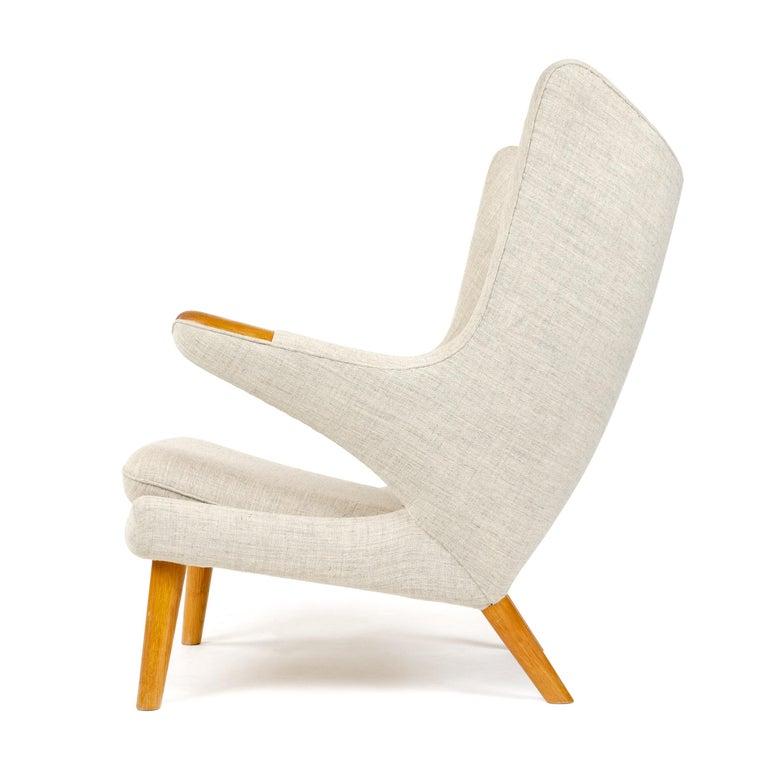 Scandinavian Modern Papa Bear Chair by Hans J. Wegner