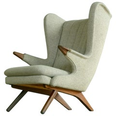Papa Bear Lounge Chair Model 91 by Sven Skipper, 1960s