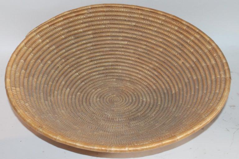 Adirondack Papago Indian Basket, Monumental For Sale