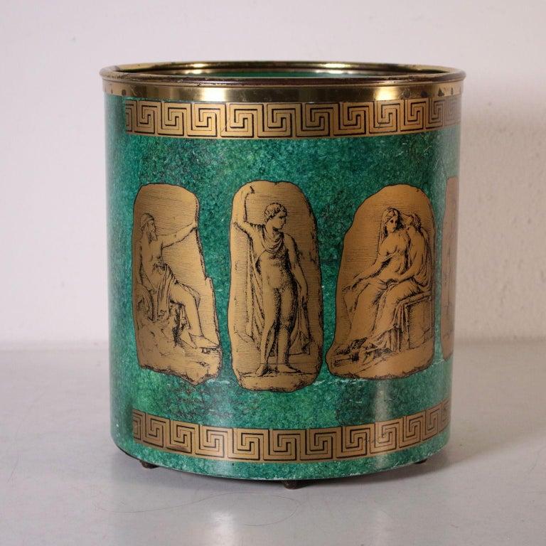Paper-Holding Basket, Metal, Felice Galbiati, 1950s 1
