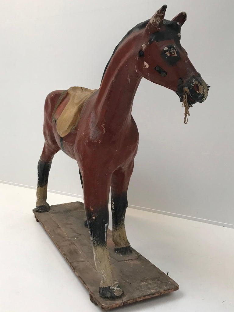 Papier Mâché Horse For Sale 3