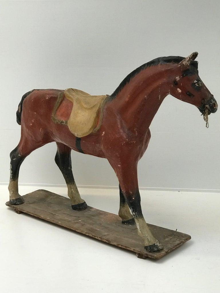 Papier Mâché Horse For Sale 1