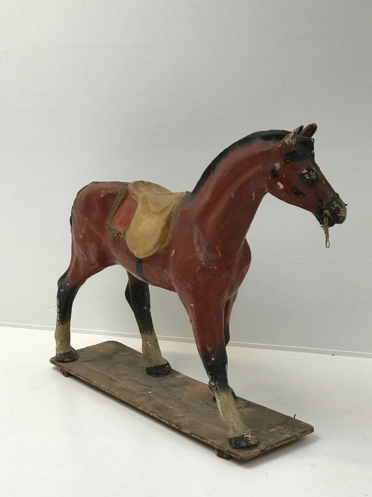 Papier Mâché Horse For Sale 2