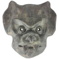 Papier-Mâché Mask by Ivan Muñoz
