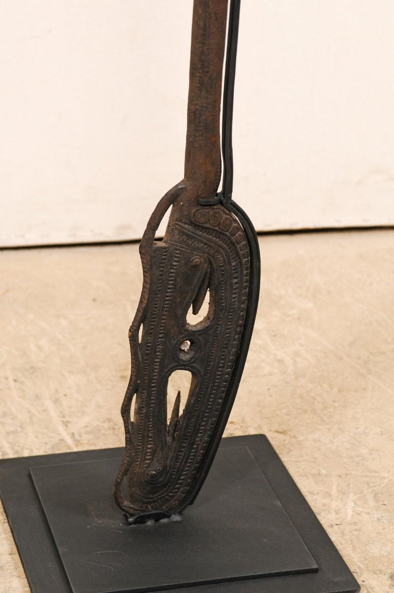 Papua New Guinea Carved Paddles For Sale 7