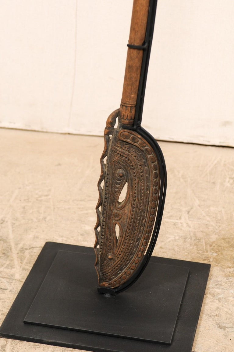 Papua New Guinea Carved Paddles For Sale 8