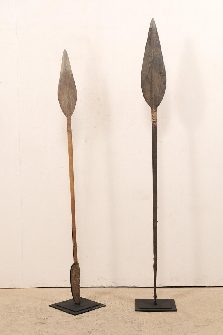Papua New Guinea Carved Paddles For Sale 1