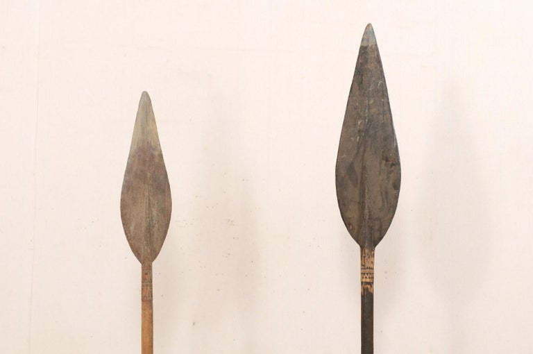 Papua New Guinea Carved Paddles For Sale 2